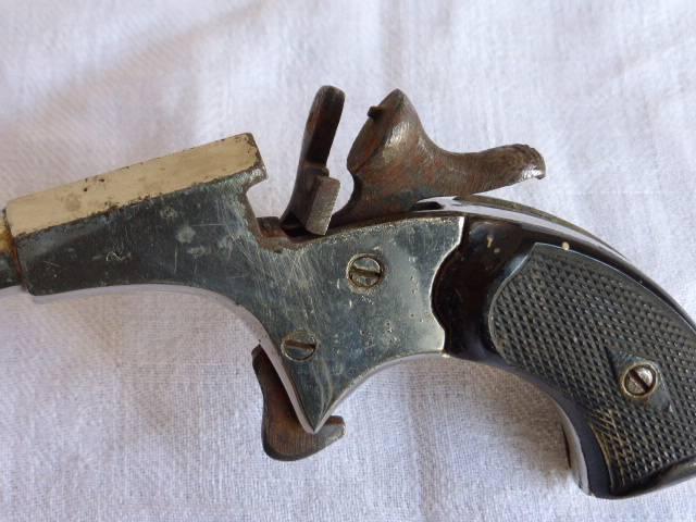 No - 243 - pistolet de cycliste pour collection   Puces Privées
