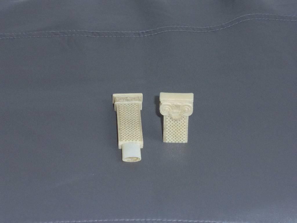 No - 58 - Etui porte aiguilles en ivoire  19 ème siècle | Puces Privées