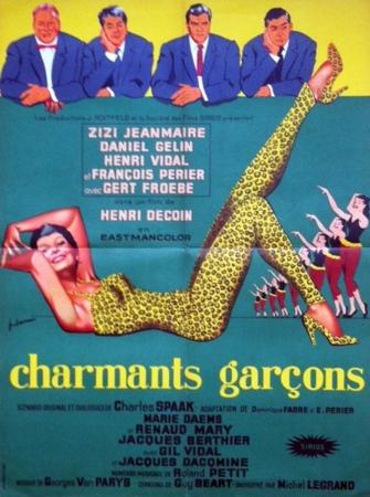 affiche cinéma Charmants garçons, Affiches anciennes (cinéma, theâtre, publicitaire), Image   Puces Privées