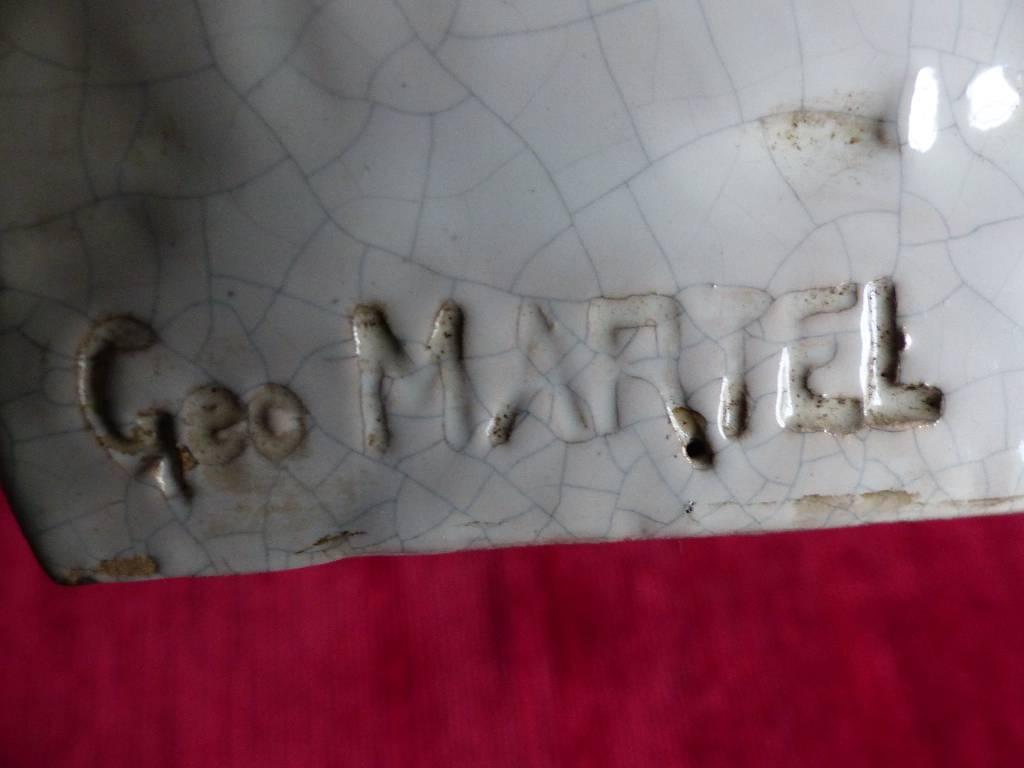 No - 273 - Superbes  serre livres par Géo Martel Desvres | Puces Privées
