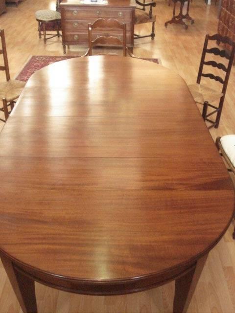 TABLE OUVRANTE ACAJOU | Puces Privées