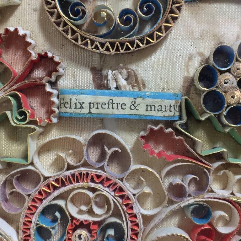 Cadre reliquaire XVIIIème | Puces Privées