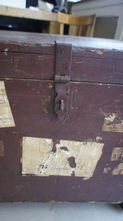 Ancienne malle | Puces Privées
