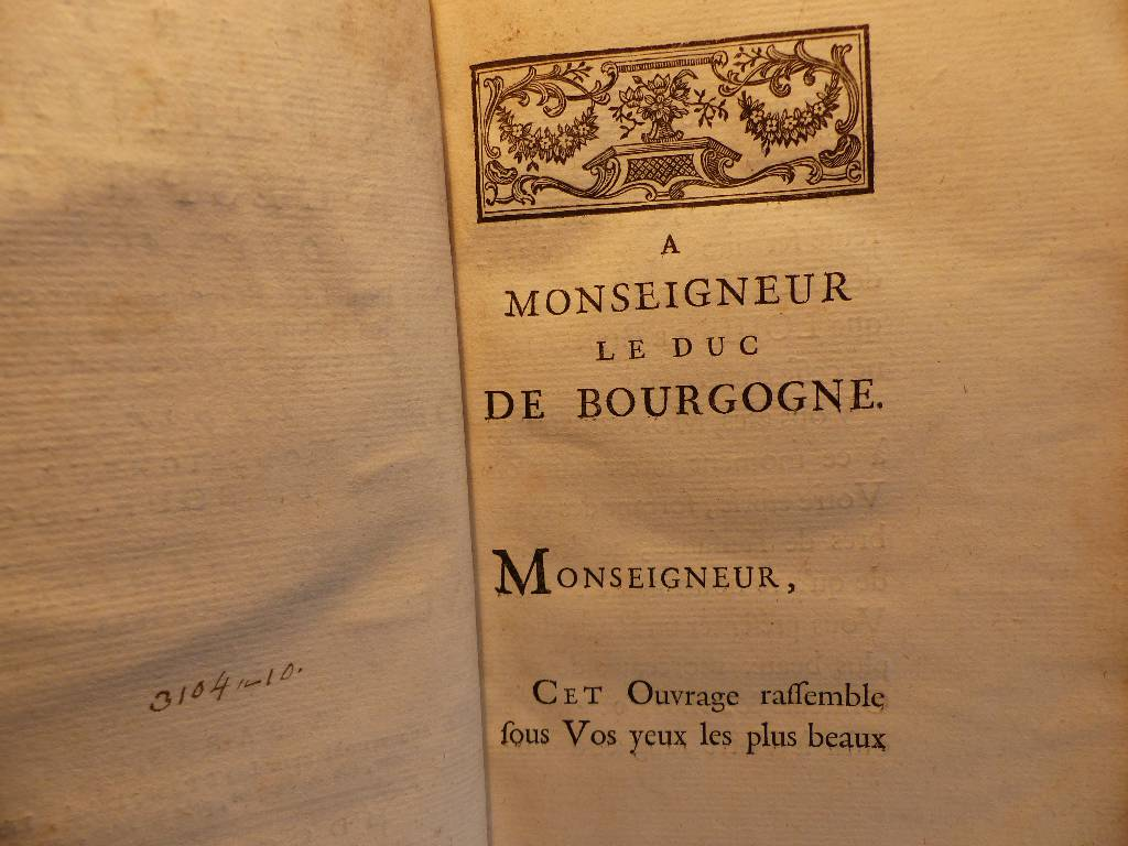 No - 289 - L'art de peindre l'esprit -  1758  -  dédié à  Monseigneur le DUC  de Bourgogne . Tome  No 1 | Puces Privées