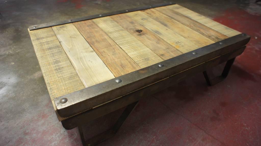Table basse atelier | Puces Privées