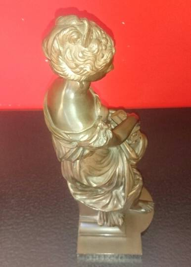Femme en bronze   Puces Privées