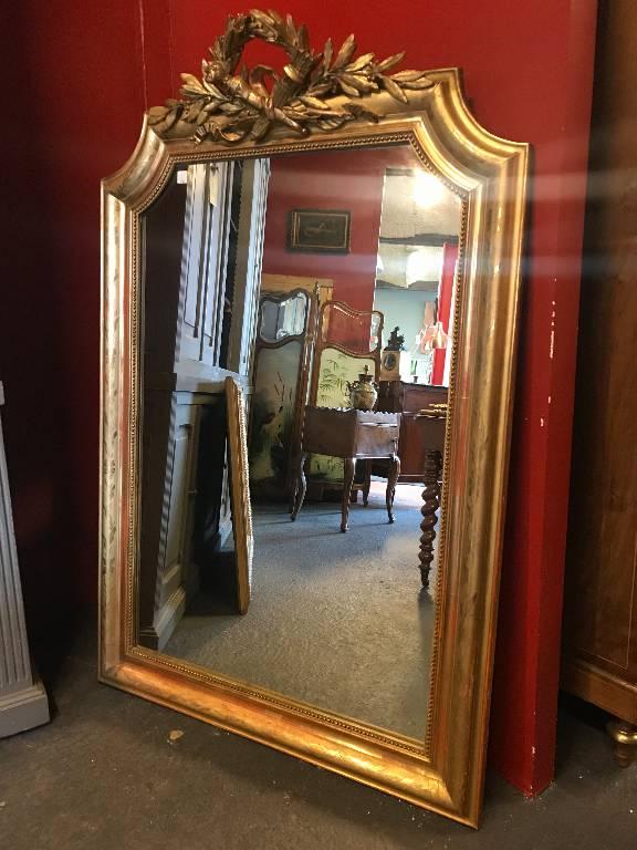 Miroir doré   Puces Privées
