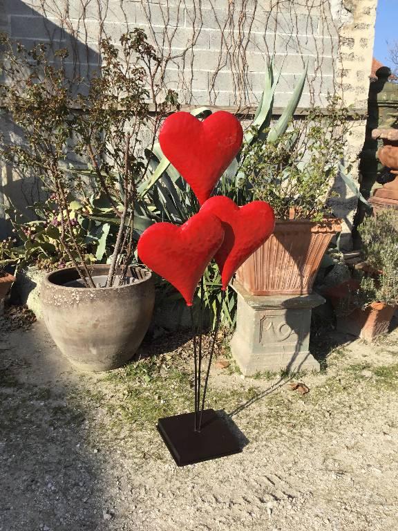 Cœurs décoratifs   Puces Privées