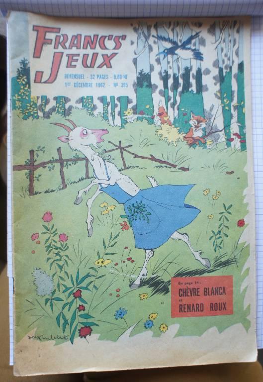 LOT FRANCS JEUX MAGAZINE | Puces Privées