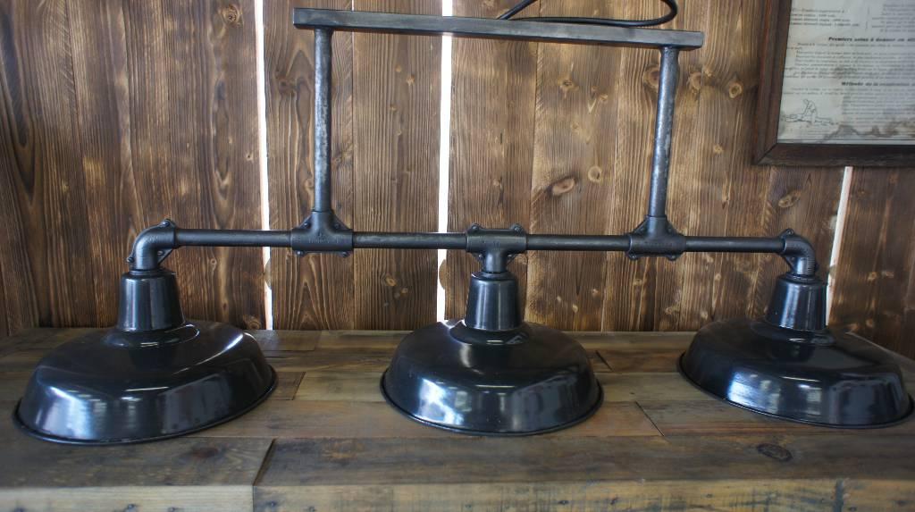 Triple suspension Bar industrielle | Puces Privées