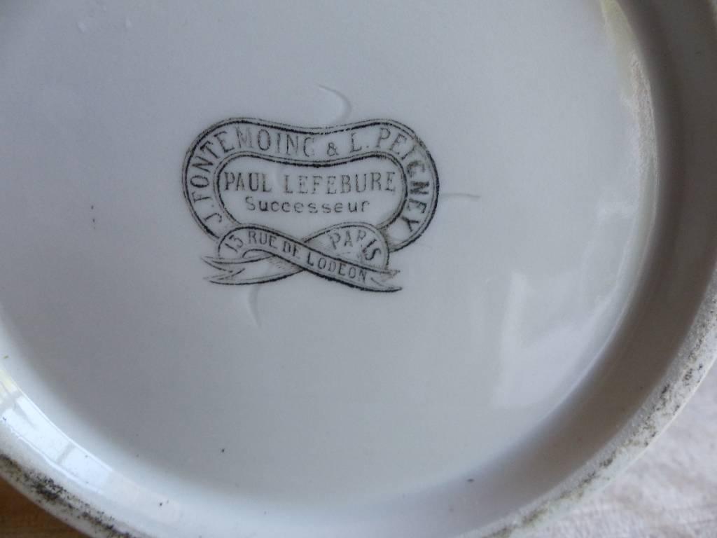 No - 302 - Pot couvert d'apothicaire à couvercle bombé XIX ème siècle . | Puces Privées