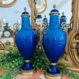 Paire de Vases couverts Paul MILLET   Puces Privées