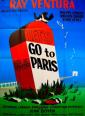 affiche cinéma Let's go to Paris, Affiches anciennes (cinéma, theâtre, publicitaire), Image | Puces Privées
