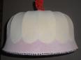 Abat-jour 70s relooké au goût du jour, 'Cupcake', Lampes, Luminaires | Puces Privées