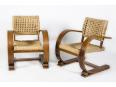 paire de fauteuils VIBO VESOUL DESIGN AUDOUX ET MINET, Fauteuils, Sièges   Puces Privées