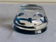 No - 3 - Presse papier en cristal de Baccarat, Verrerie, Arts de la table | Puces Privées