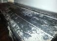 Grande malle bombée ancienne en bois noire, Coffres, coffres fort, Mobilier | Puces Privées