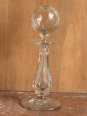 No - 57 -  Lampe à huile en verre  soufflé et taillé  ., Art populaire, Collections | Puces Privées