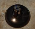 Lustre industriel émaillé noir, Atelier, Luminaires | Puces Privées