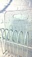 Porte revue Mategot modèle Cap d'Agde, Vintage, Mobilier de jardin | Puces Privées