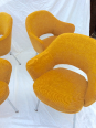 Ensemble de 4 fauteuils Conférence Saarinen - Knoll, Chaises - tabourets, Sièges | Puces Privées