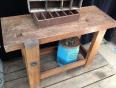 Etabli ancien en bois, Meubles de métier, Mobilier | Puces Privées