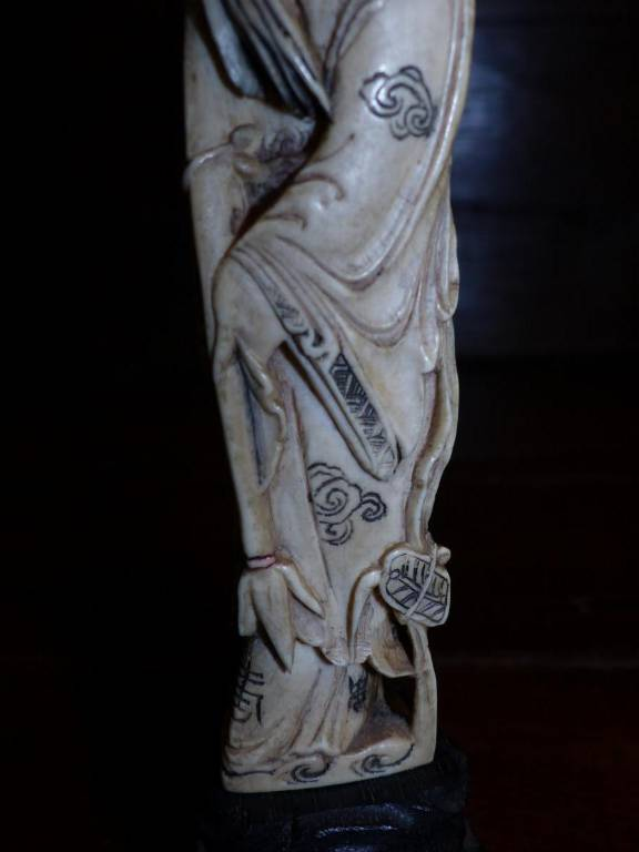 circa époque XIX eme statue originale chine feng shui chinois   Puces Privées