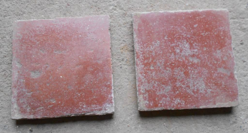Tomettes en terre cuite -  Bourgogne   Puces Privées