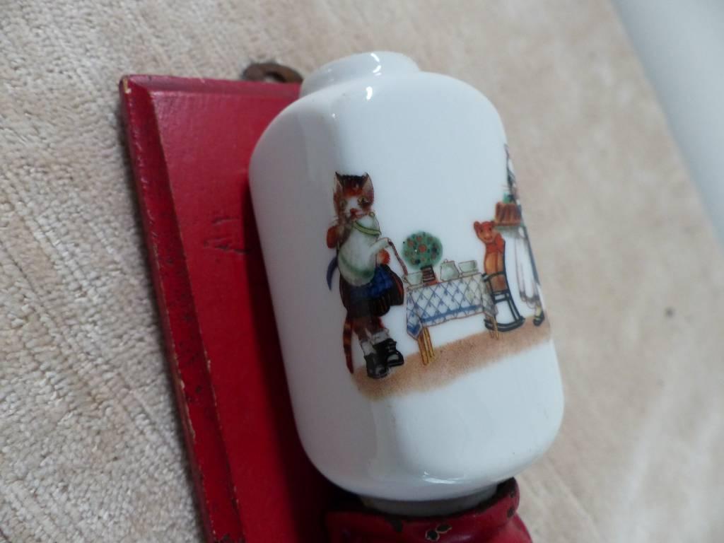 No - 318 - Rare moulin à café mural, collection ,dînette ,poupée ,miniature | Puces Privées