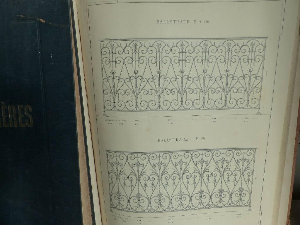 No - 326 - Albums catalogues des fers et fontes Simon Perret Frères  LYON 1903 | Puces Privées
