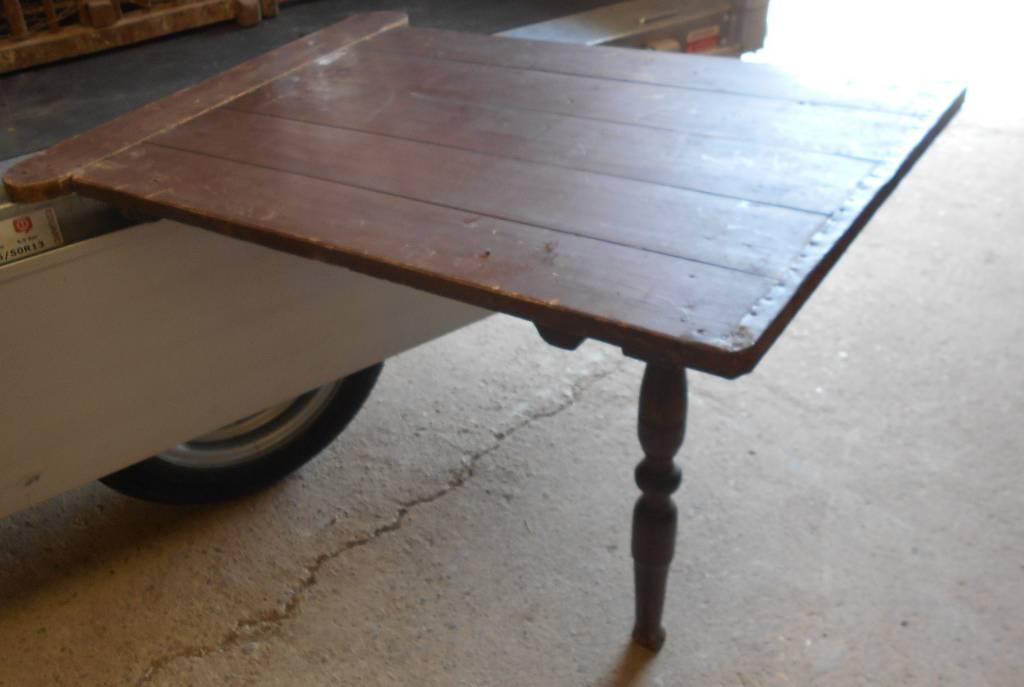 petite table de monastère pliable 19° | Puces Privées