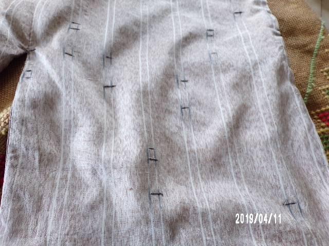 KIMONO Ancien en Soie   Puces Privées
