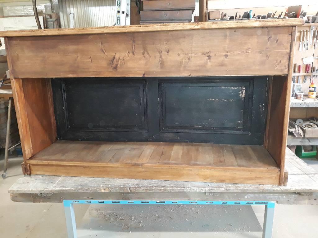 Banque de magasin à 8 tiroirs en sapin | Puces Privées