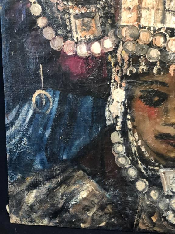 Orientaliste Algérie Jeunes mariées Ouled Nail Biskra début XIXe AL-DJAZA'IR | Puces Privées