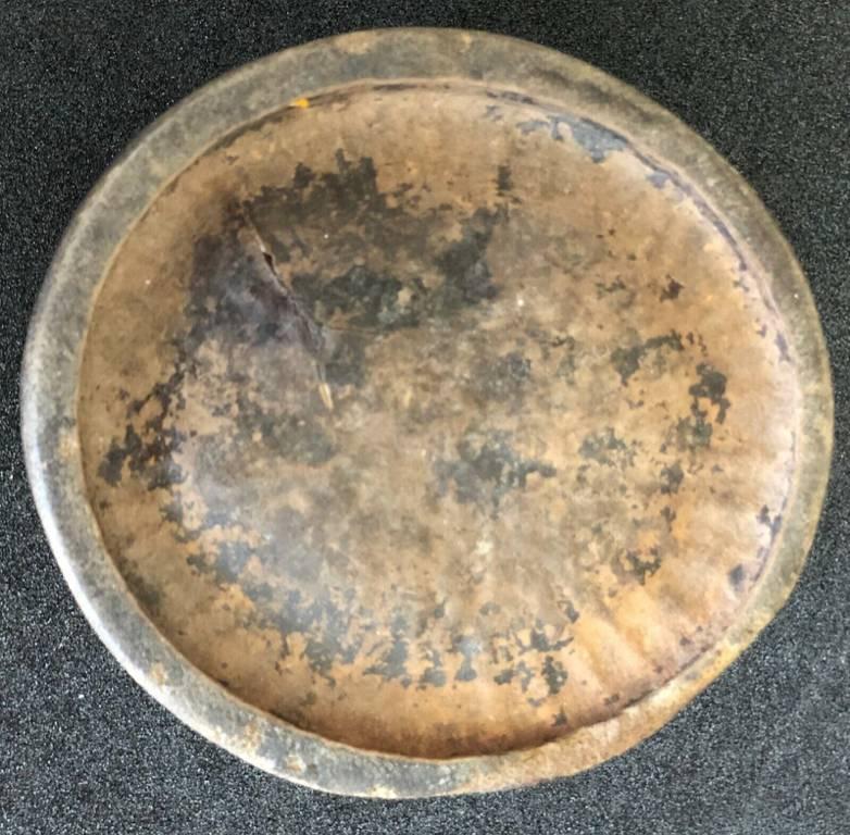 Chine très vieux pot à pinceaux chinois en bois sculpté quatre idéogrammes china   Puces Privées