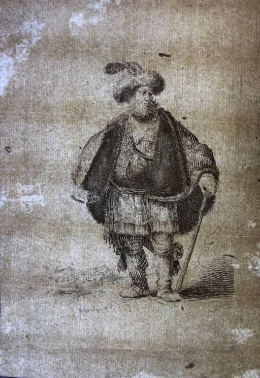 Rembrandt van Rijn 1606–1669 The Persian tirage XVII non identifié ? | Puces Privées