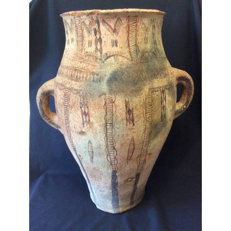 Maroc grande jarre 59 cm Kabylie ou berbère XVIII XIXème | Puces Privées