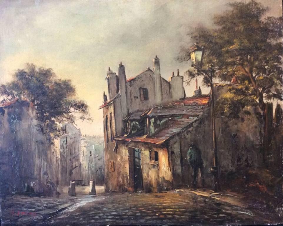 Paris Le pisseur maison van Dongen et mimi Pinson r Mont-Cenis Montmartre Amory   Puces Privées