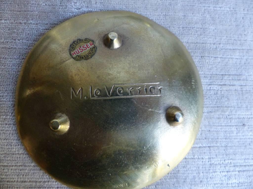No - 364 - Max Le Verrier 1891 - 1973  sculpteur français , vide poche en bronze | Puces Privées