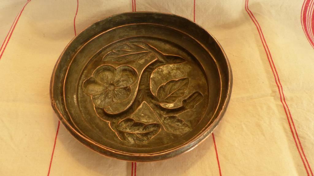 No - 381 -  Moule à gâteau en cuivre XIXème siècle | Puces Privées