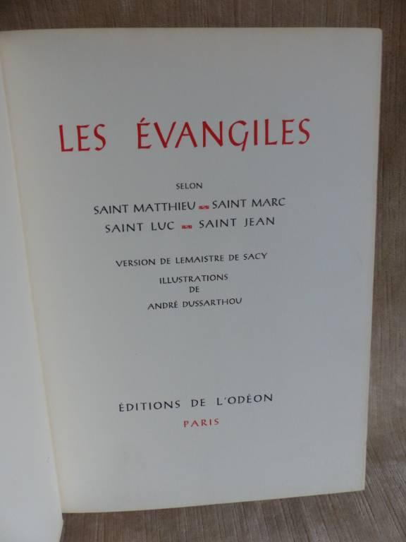 No - 383 - Les EVANGILES  selon Saint Matthieu , Saint Marc , Saint Luc , Saint Jean | Puces Privées
