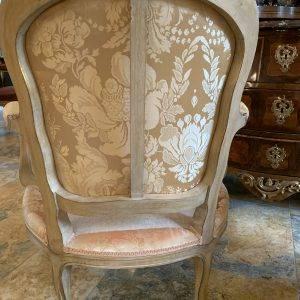 Paire de Bergères de Style Louis XV | Puces Privées