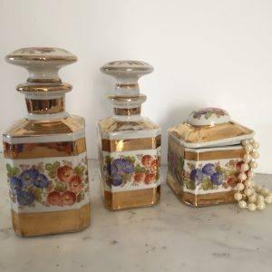 Garniture de Toilette XIXe siècle | Puces Privées