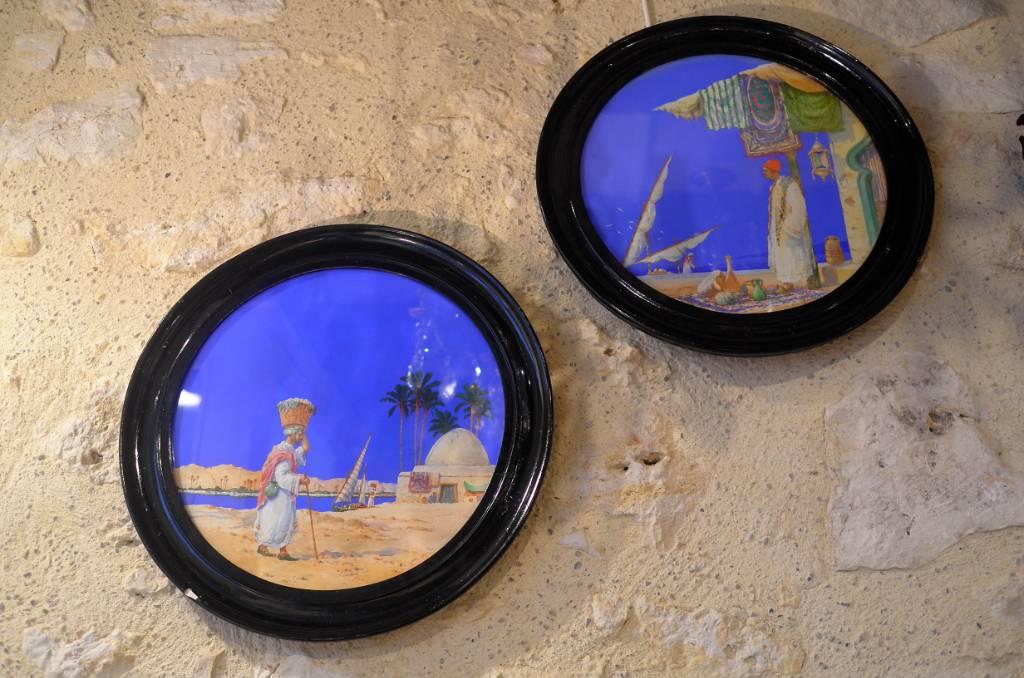 Paire d'aquarelles orientalistes | Puces Privées