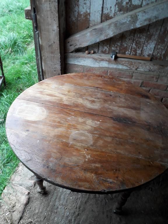 Table bois | Puces Privées