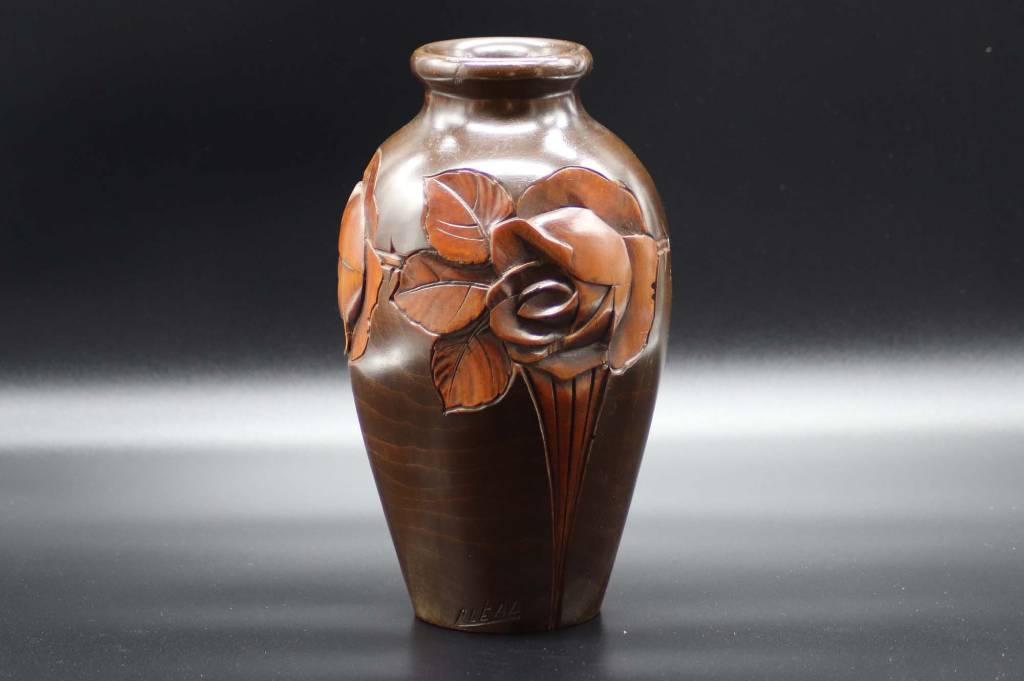 Vase en Bois | Puces Privées