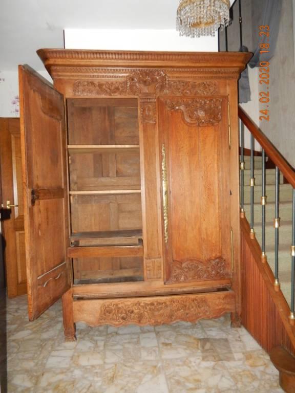 armoire chêne   Puces Privées