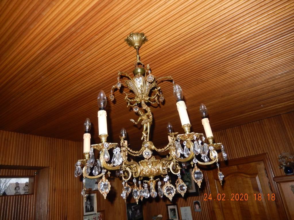 lustre bronze | Puces Privées