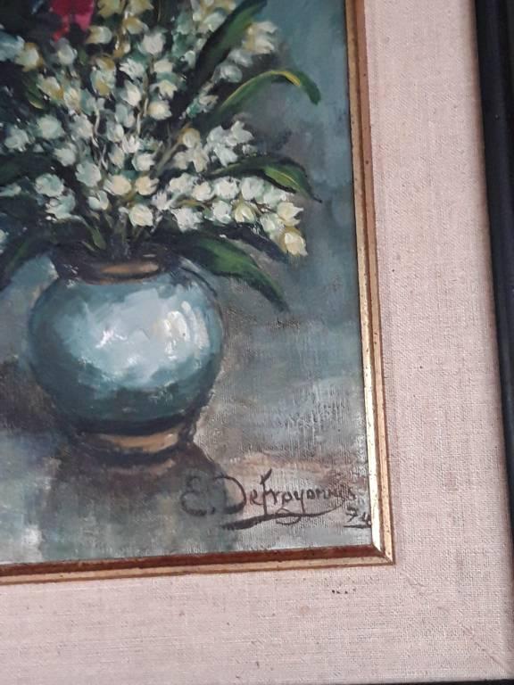 Peinture de DEFROYENNES E. année +/- 1970 | Puces Privées