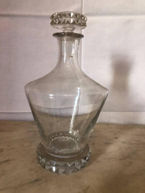 Carafe cristal Saint Louis   Puces Privées